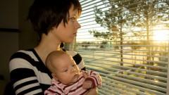 דיכאון אחרי לידה (אילוסטרציה)