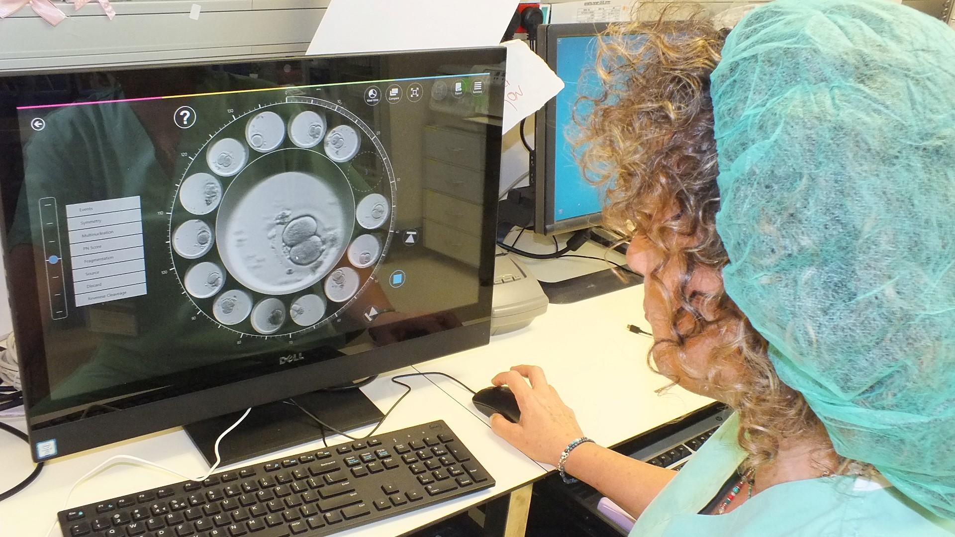 האמבריוסקופ Time lapse ביחידת ה-IVF בפוריה